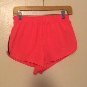 Nike Hot Pink Running Split Short SIZE: M